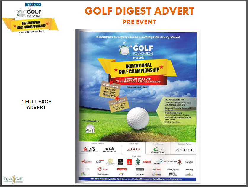 <div class='clear_description'>YES BANK-Golf Foundation Inaugural Golf Championship 2014 is a huge success</div>