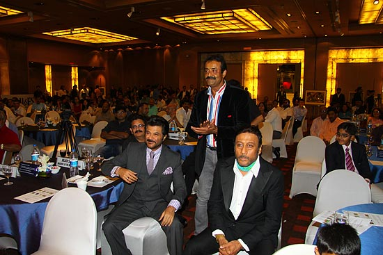 <div class='clear_description'>Anil Kapoor and Jackie Shroff - TGF Brand Ambassadors and Chief Guests of the evening</div>