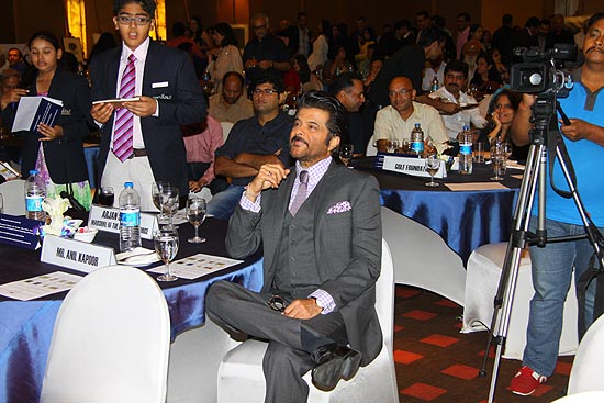 <div class='clear_description'>Anil Kapoor carefully listening to TGF presentation</div>